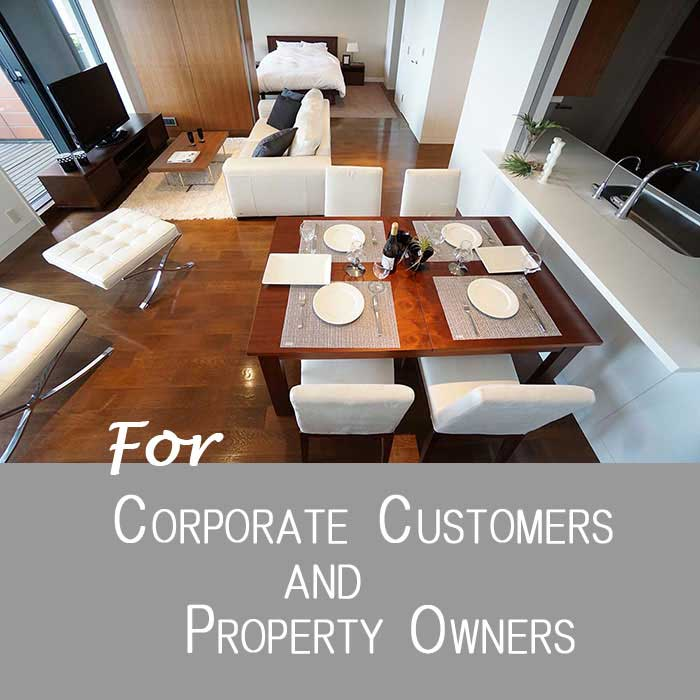 For Corporate Customers and Owners