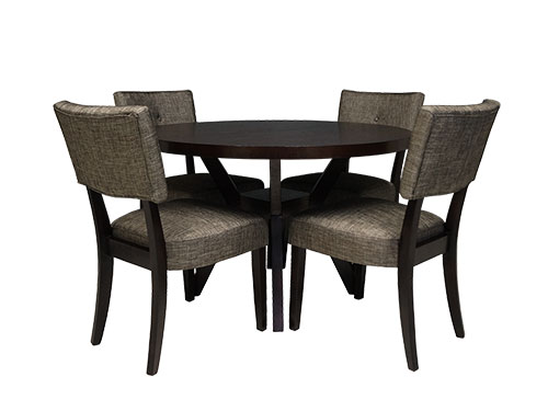 Dining Table with 4 chairs (Used)
