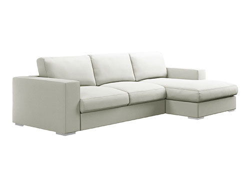 L Shape Sofa (Fabric) (Used)