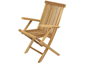 Folding Arm Chair (New)