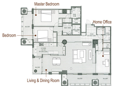 Japanese Apartments Floor Plans