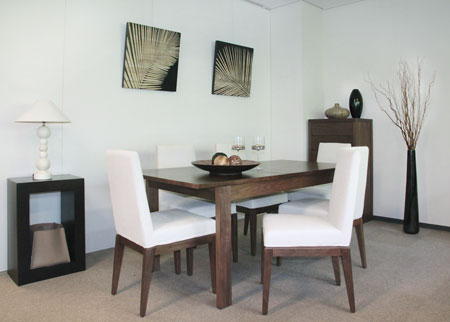 Walnut Color Collection Dining Table JEXTWN Products For Sale - Walnut color dining table